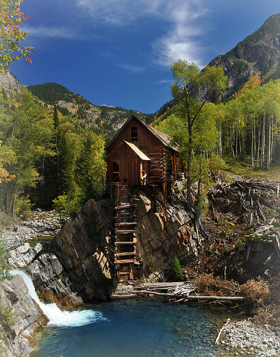 Crystal Mill 2 Print by Marty Koch
