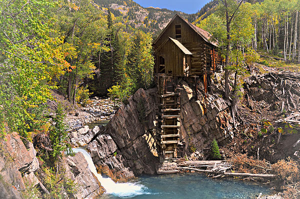 Crystal Mill 3 Print by Marty Koch