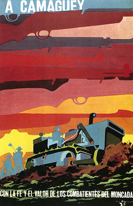 Cuban Poster, 1960s Print by Granger