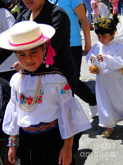 Cuenca Kids 117 Print by Al Bourassa