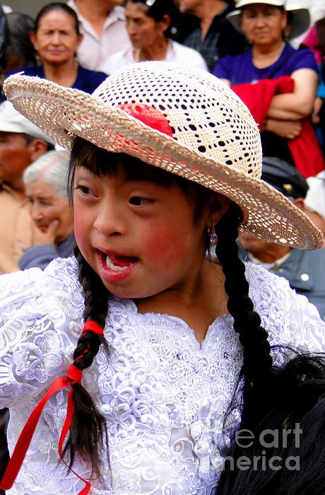 Cuenca Kids 43 Print by Al Bourassa