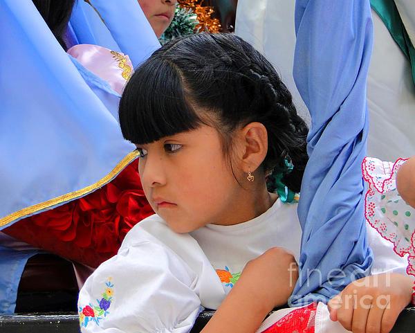 Cuenca Kids 73 Print by Al Bourassa