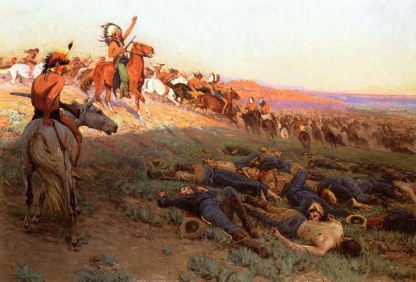 Custer's Last Stand Print by Richard Lorenz