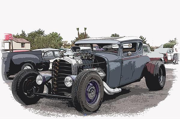 Custom Model A Coupe Print by Steve McKinzie