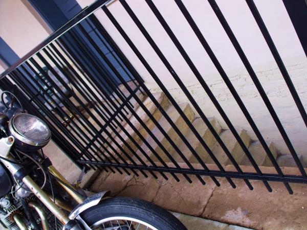 Cycle And Stairs I Photograph  - Cycle And Stairs I Fine Art Print