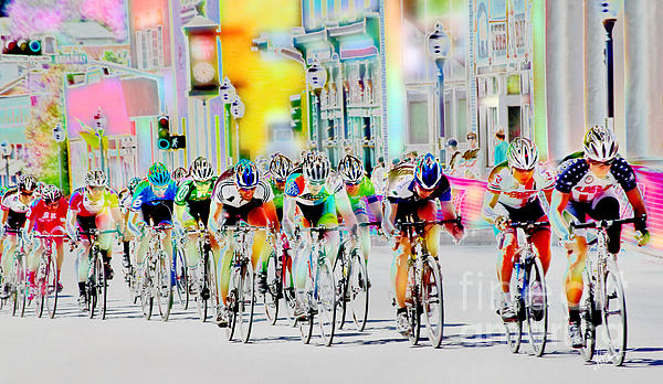 Vicki Pelham - Cycling Down Main Street USA