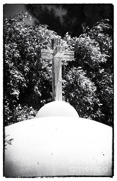 Cypriotic Crucifix Print by John Rizzuto