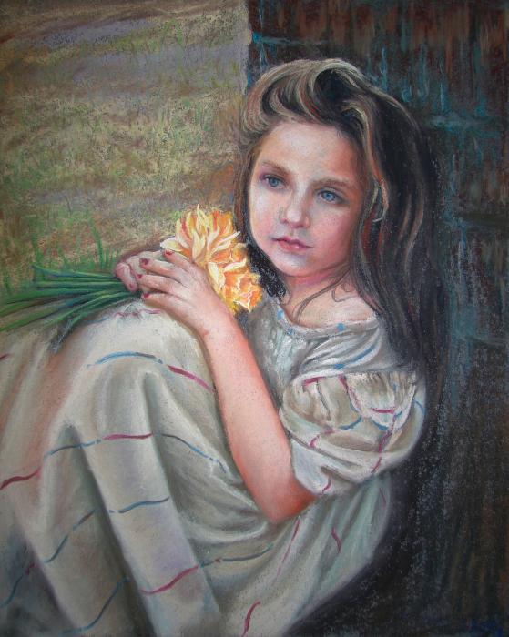Usha P - Daffodil girl