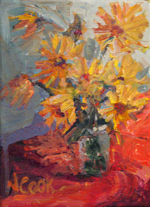 Nanci Cook - Daisies in October