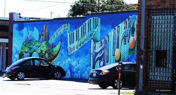 Dallas Street Art 4 Print by DiDi Higginbotham