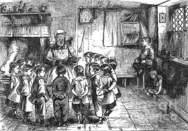 Dames School Print by Granger