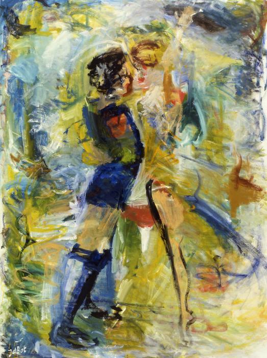 Dance Print by Joan De Bot