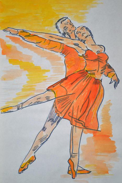 Roxana Cristal - Dancers In Color