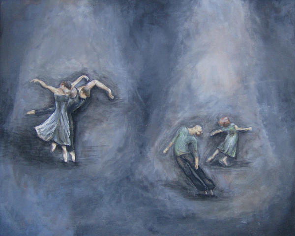Dancers Print by Michelle Iglesias