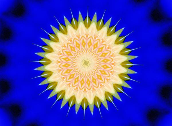 Dandelion Abstract2 Print by Johann Todesengel