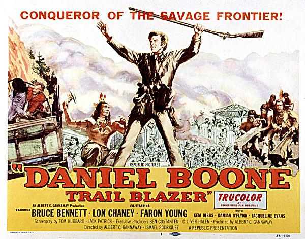 Daniel Boone, Trail Blazer, Bruce Print by Everett
