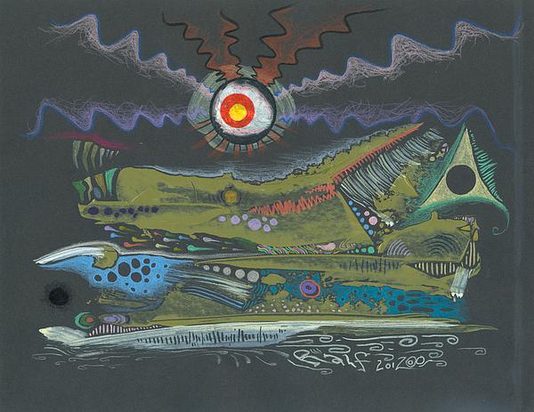 Dargonia Print by Ralf Schulze