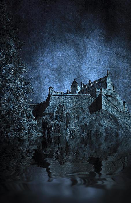 Dark Castle Print by Svetlana Sewell