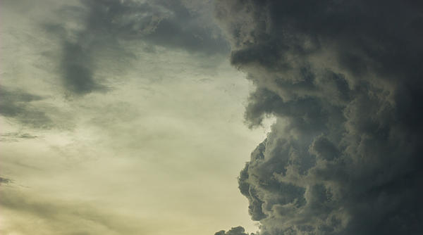 Dark Clouds Print by Milos Dacic