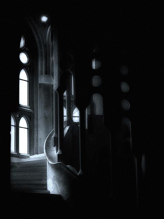 Dark Passage II Print by Lynn Andrews