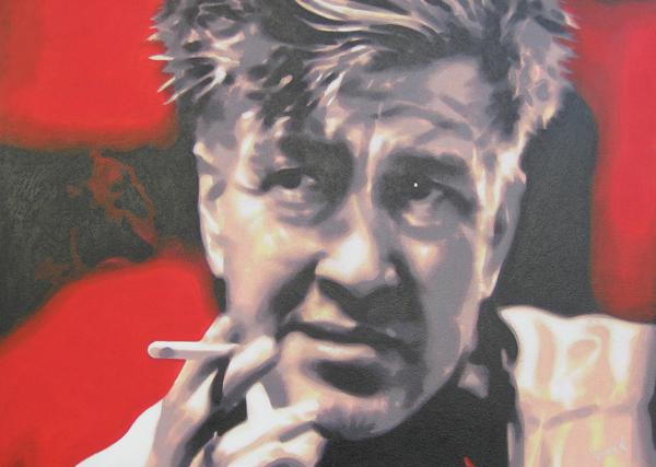 David Lynch Print by Luis Ludzska