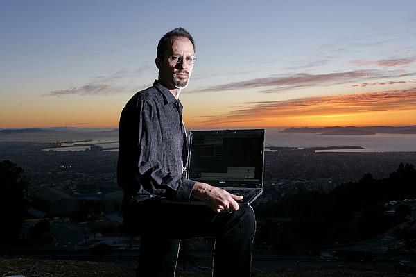 David P. Anderson, Us Computer Scientist Print by Volker Steger
