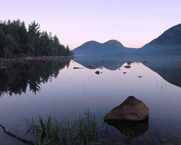 Dawn Reflections Print by Stephen  Vecchiotti