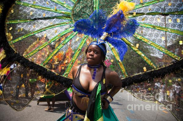 Dc Caribbean Carnival No 12 Print by Irene Abdou