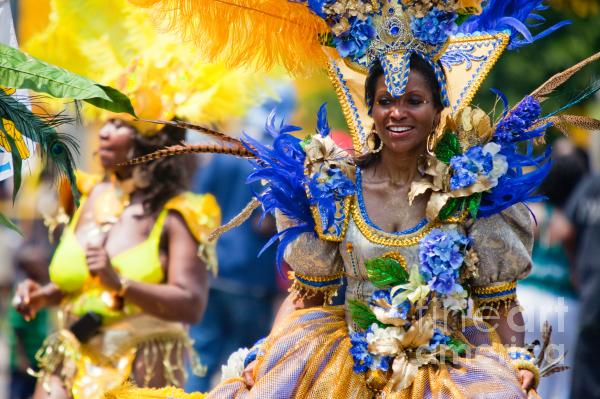 Dc Caribbean Carnival No 19 Print by Irene Abdou
