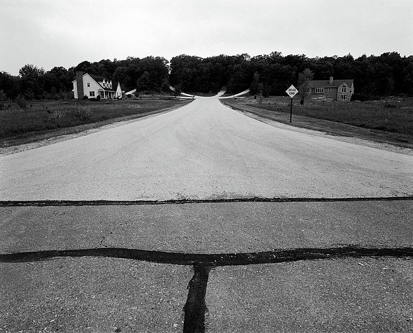 Dead End On Highway C Print by Jan Faul