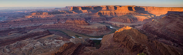 Dead Horse Point Panorama Print by Andrew Soundarajan