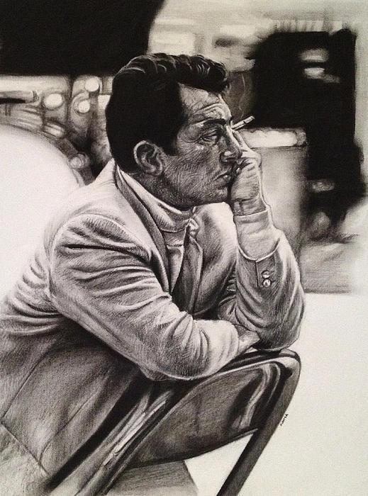 Dean Martin Print by Steve Hunter