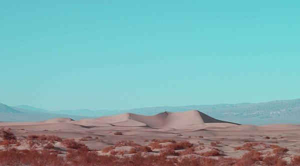 Death Valley Dunes 2 Print by Naxart Studio