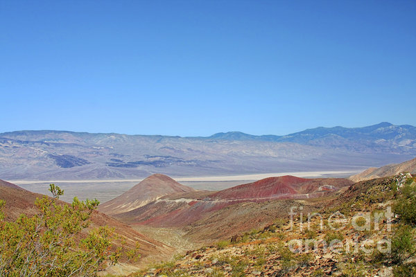 Death Valley National Park - Eastern California Print by Christine Till