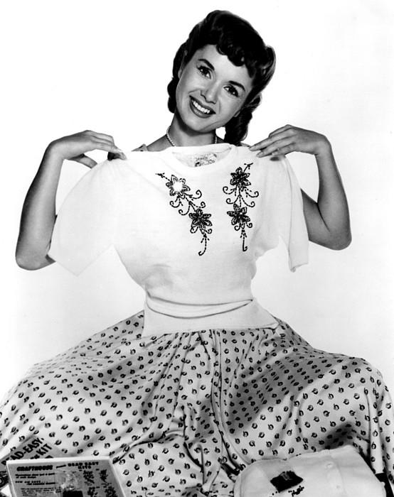 Debbie Reynolds, Portrait, Ca. 1950s Print by Everett