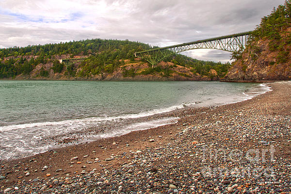 Deception Pass Washington Print by Artist and Photographer Laura Wrede