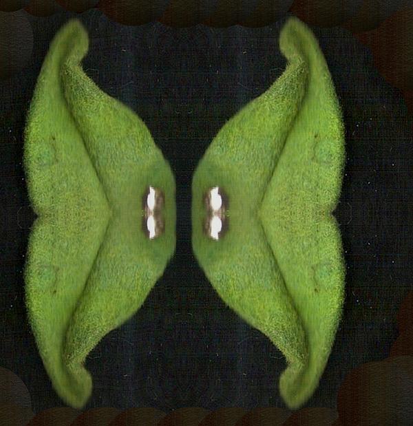 Decorative Green In The Dark Print by Pepita Selles