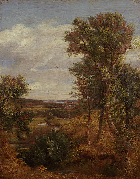 Dedham Vale Print by John Constable