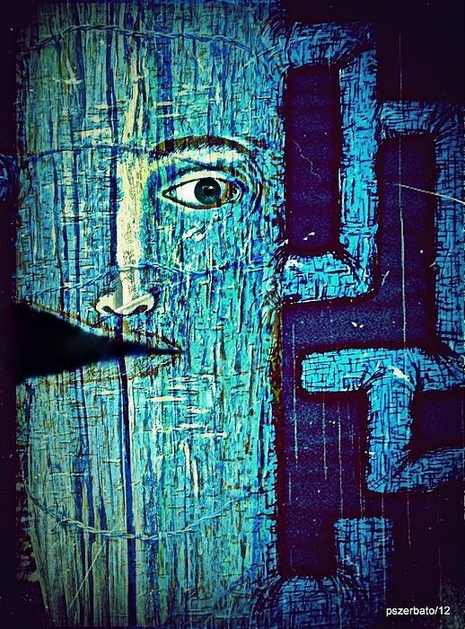 Deep Cut Print by Paulo Zerbato