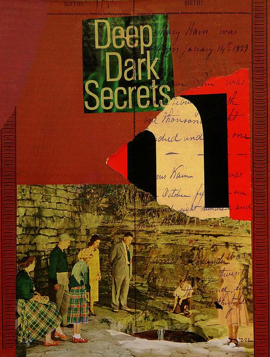 Deep Dark Secrets Print by Adam Kissel