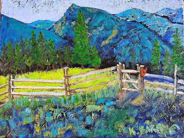Kathryn Barry - Deer Creek Trail Gate