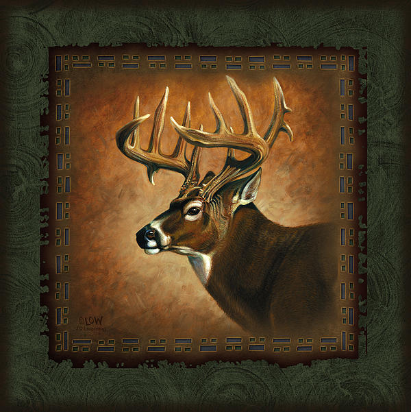 Deer Lodge Print by JQ Licensing