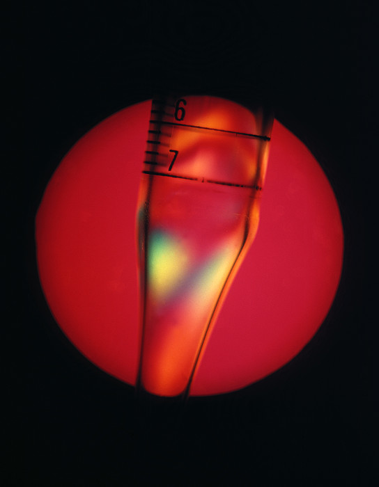 Defective Plastic, Light Micrograph Print by Mark Sykes