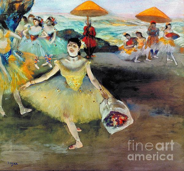 Degas: Dancer, 1878 Print by Granger