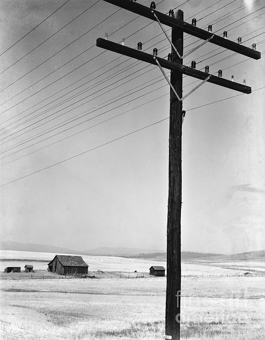 Depression Era Rural America Print by Photo Researchers
