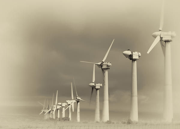 Daniel Hagerman - DERELICT WIND TURBINES of SOUTH POINT - HAWAII