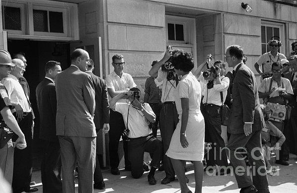 Desegregation, 1963 Print by Granger