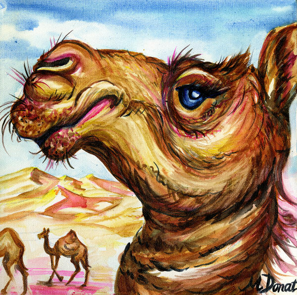 Desert Aristocrat Print by Margaret Donat