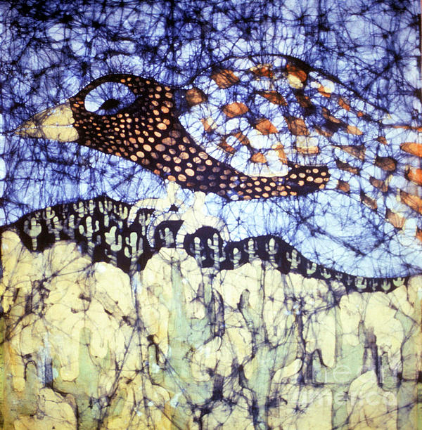 Desert Crow Print by Carol Law Conklin