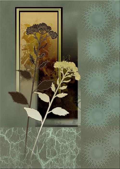 Desert Flowers Print by Gina Femrite